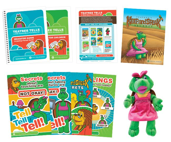 Teatree Tells: A Child Abuse Prevention Kit