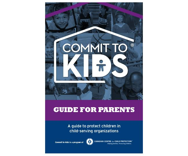 Commit to Kids Guide for Parents Brochure