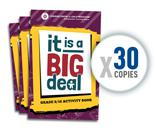 Image: 30 Pack of: It is a Big Deal (Gr. 9/10)